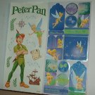 Scrapbooking - Stickers - 2 sheets  Peter Pan -  New