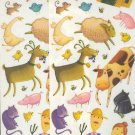 Scrapbooking - Stickers - 2 sheets  Old MacDonald's Farm & Animals  New