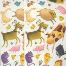 Scrapbooking - Stickers - 2 sheets  Old MacDonald's Farm & Animals  New