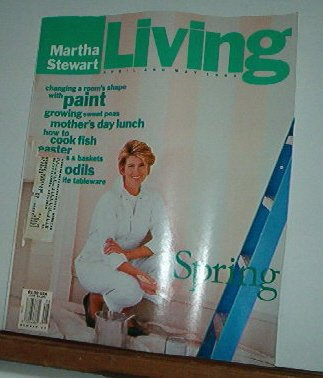 Magazine - Martha Stewart Living - Free Shipping - No.  13  - April & May 1993