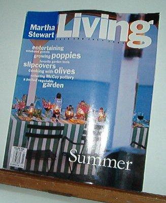 Magazine - Martha Stewart Living - Free Shipping - No.  14 June & July 1993