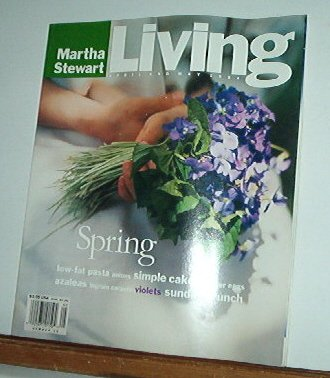 Magazine - Martha Stewart Living - Free Shipping - No.  19 April & May 1994
