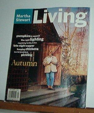Magazine - Martha Stewart Living - Free Shipping - No. 23 October 1994
