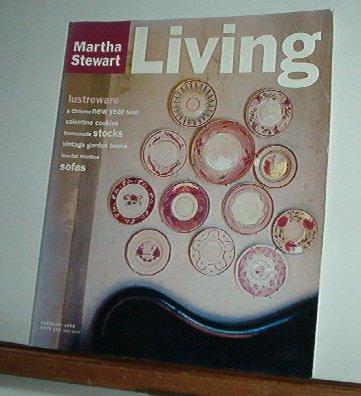 Magazine - Martha Stewart Living - Free Shipping - No. 26 February 1995