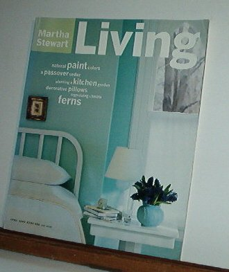 Magazine - Martha Stewart Living - Free Shipping - No. 28  April 1995