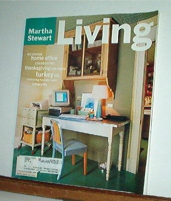 Magazine - Martha Stewart Living - Free Shipping - No. 34 November 1995