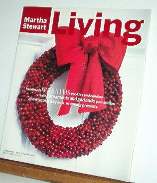 Magazine - Martha Stewart Living - Free Shipping - No. 35 Dec 95/Jan 96