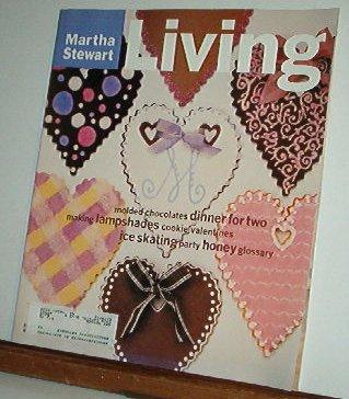Magazine - Martha Stewart Living - Free Shipping - No. 36 February 1996