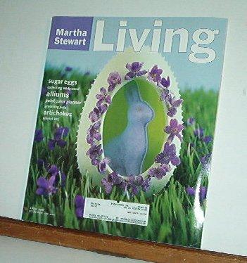 Magazine - Martha Stewart Living - Free Shipping - No. 48  April 1997