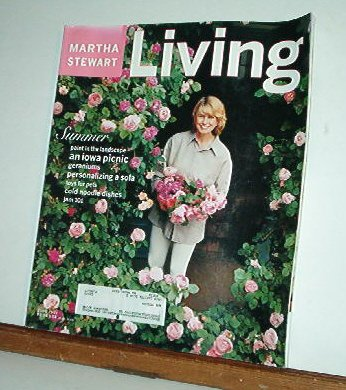 Magazine - Martha Stewart Living - Free Shipping - No. 50  June 1997