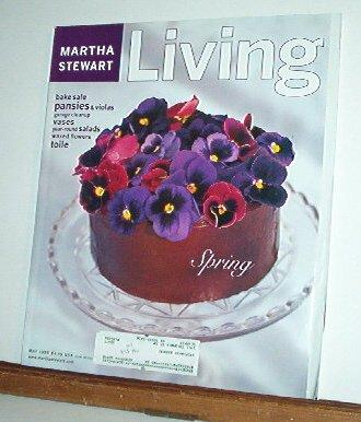 Magazine - Martha Stewart Living - Free Shipping - No. 59  May 1998