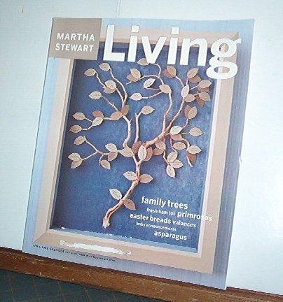 Magazine - Martha Stewart Living - Free Shipping - No. 68  April 1999