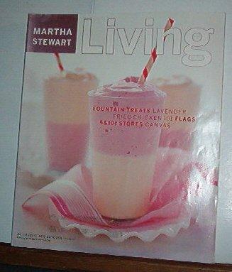 Magazine - Martha Stewart Living - Free Shipping - No. 71 June/July 1999