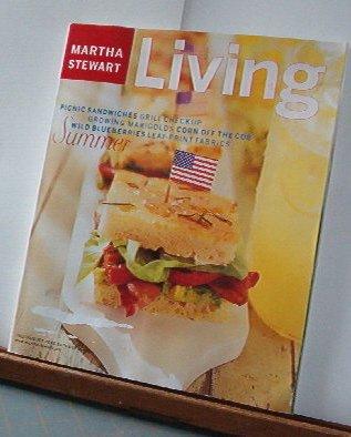 Magazine - Martha Stewart Living - Free Shipping - No. 81 July/August 2000