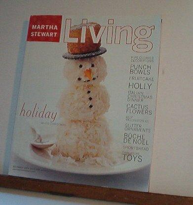 Magazine - Martha Stewart Living - Free Shipping - No. 85 December 2000