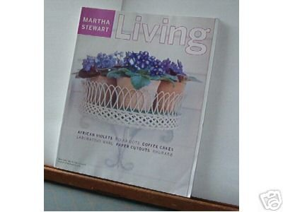 Magazine - Martha Stewart Living - Free Shipping - No. 90 May 2001
