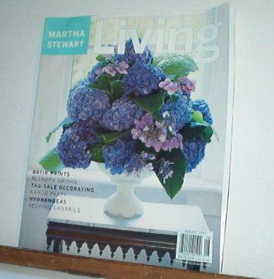 Magazine - Martha Stewart Living - Free Shipping -  No. 93 August 2001