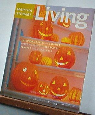 Magazine - Martha Stewart Living - Free Shipping - No. 95 October 2001