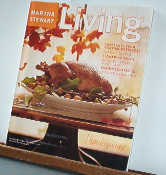 Magazine - Martha Stewart Living - Free Shipping - No.96  November 2001