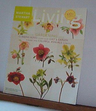 Magazine - Martha Stewart Living - Free Shipping - No. 100 March 2002