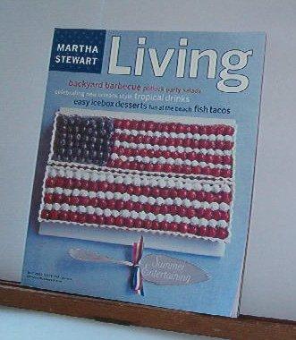 Magazine - Martha Stewart Living - Free Shipping - No. 104 June 2002