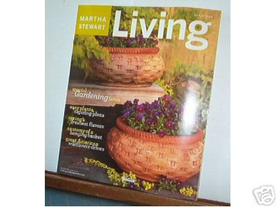 Magazine - Martha Stewart Living - Free Shipping - No. 112  March 2003