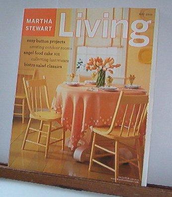 Magazine - Martha Stewart Living - Free Shipping - No.  114  May 2003