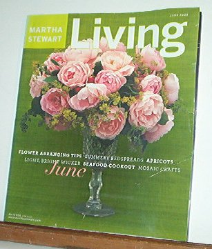 Magazine - Martha Stewart Living - Free Shipping - No. 115  June 2003
