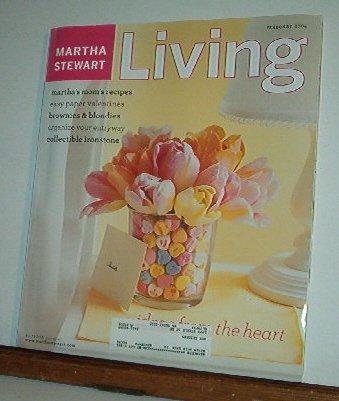 Magazine - Martha Stewart Living - Free Shipping - No.  123 February 2004
