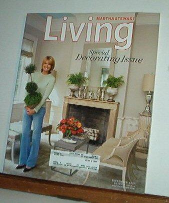 Magazine - Martha Stewart Living - Free Shipping - No. 142  September 2005