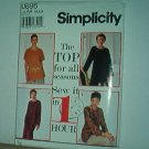 Sewing Pattern Simplicity 0696 Tunic Top in l hour with hem variations Size 6-16