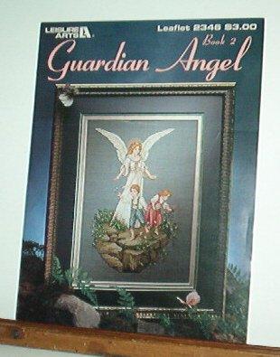 Cross Stitch Pattern GUARDIAN ANGEL  Angel with two children