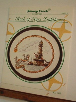 Cross Stitch Patterns Stoney Creek ROCK OF AGES LIGHTHOUSE