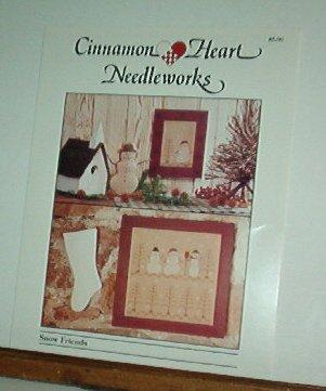 Cross Stitch Pattern Cinnamon Heart Needleworks SNOW FRIENDS 2 designs