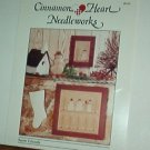 Cross Stitch Pattern Cinnamon Heart Needleworks SNOW FRIENDS 2 designs