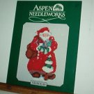 Cross Stitch Pattern Santa Claus NICHOLAS  Aspen Needlewords