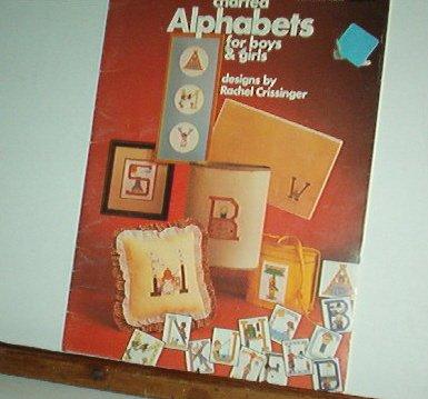 Cross Stitch Pattern, ALPHABETS FOR BOYS & GIRLS