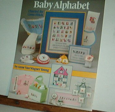 Cross Stitch Pattern, BABY ALPHABET by Anne Young Sweet