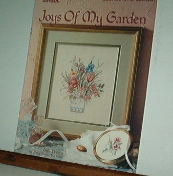 Cross Stitch Pattern, JOYS OF MY GARDEN 7 designs by Mary Bertrand