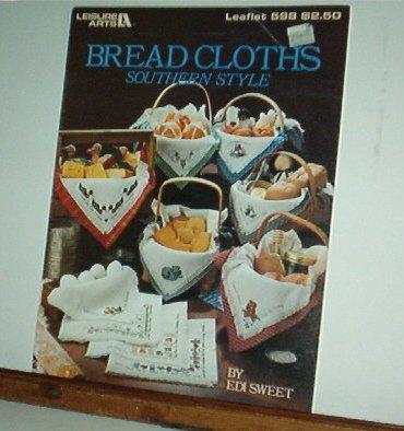 Cross Stitch Pattern,  BREAD CLOTHS SOUTHERN STYLE 10 designs by Edi Sweet