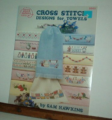 Cross Stitch Pattern, DESIGNS FOR TOWELS 29 designs by Sam Hawkins
