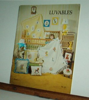 Cross Stitch Pattern, LUVABLES 22 designs, mix and match