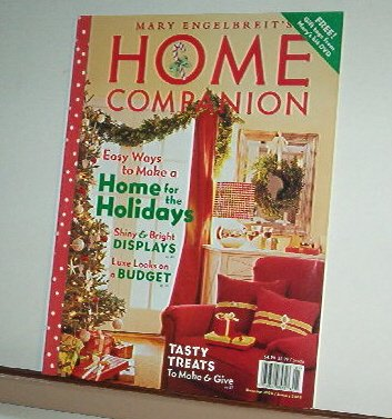 Magazine - Mary Engelbreit - HOME COMPANION - Like New - Free Shipping - December 2004