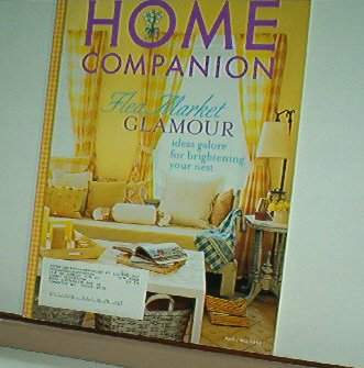 Magazine - Mary Engelbreit - HOME COMPANION - Like New - Free Shipping - April/May 2003
