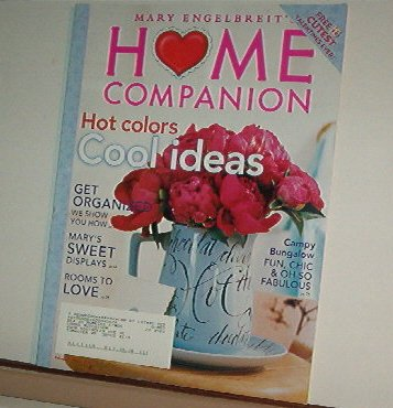 Magazine - Mary Engelbreit - HOME COMPANION - Like New - Free Shipping - Feb/Mar 2005