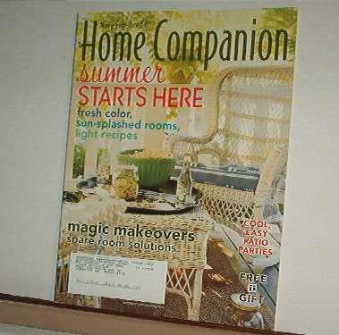 Magazine - Mary Engelbreit - HOME COMPANION - Like New - Free Shipping - June /July 2006