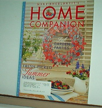 Magazine - Mary Engelbreit - HOME COMPANION - Like New - Free Shipping - June/July 2003