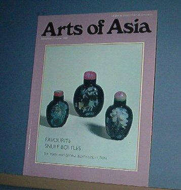 Magazine  - ARTS OF ASIA - Like New  - Sept/Oct 1990