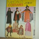 Sewing Pattern McCalls 2854 Variety of costumes for kids includes all sizes