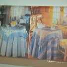 Sewing Pattern Butterick 4909 Tableclothes pillows placemats chair seats +